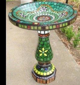 Beliana Mosaics Mosaic Bird Bathsmosaic