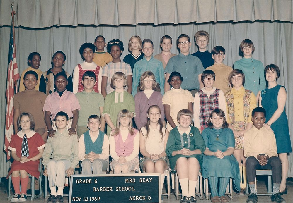 1969 George Barber Elementary School Photo Of Mrs Seays Class