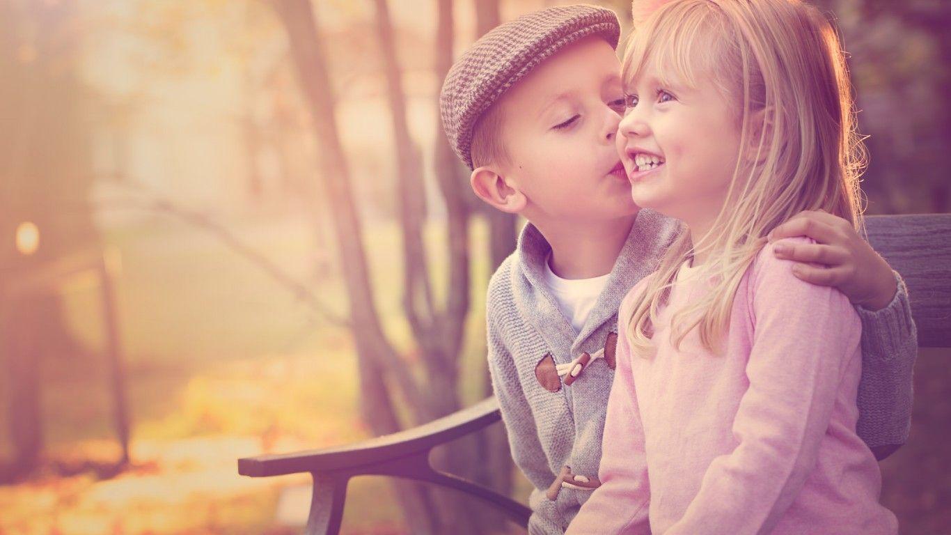 Скачать обои friendship, мальчик, девочка, раздел ...