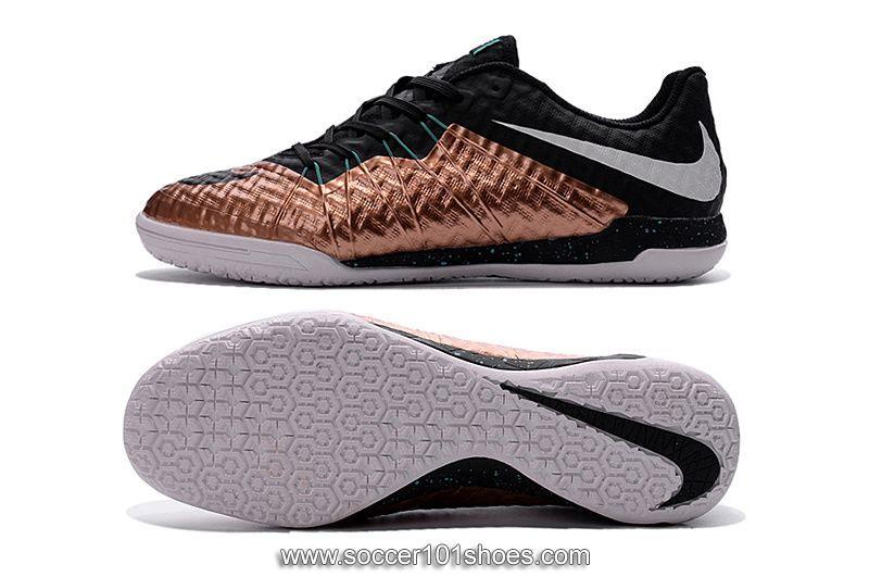 b33c0d445 Nike Men's HypervenomX Finale IC Indoor Football Soccer Shoes Gold Black  $73.00