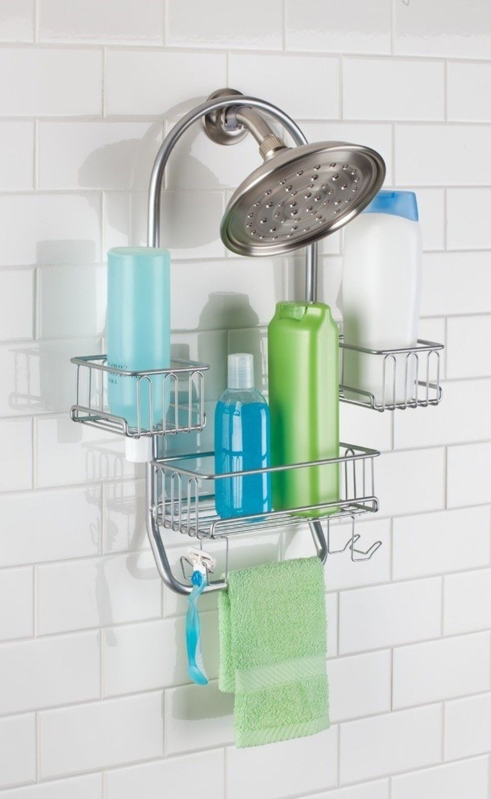 31 Products From Jet To Upgrade Every Room In Your House Shower Caddy Mdesign Bathroom Shower