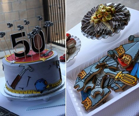 50 cumpleanos hombre tarta tartas adultos pinterest - Cumpleanos 50 anos hombre ...