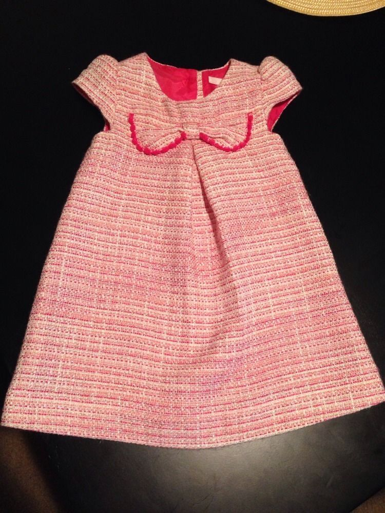jack and janie Girls Pink Dress 12-18month #JanieandJack