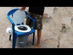 DIY Homemade Camping Toilet