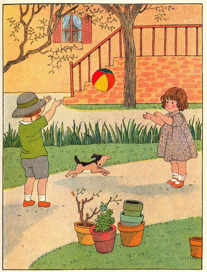 Spelen met de bal                                                                      Marie Madeleine Franc-Nohain