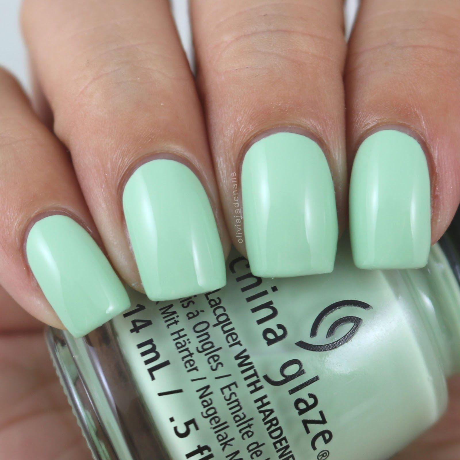 China Glaze Spring Jungle swatched by Olivia Jade Nails | Nails ...