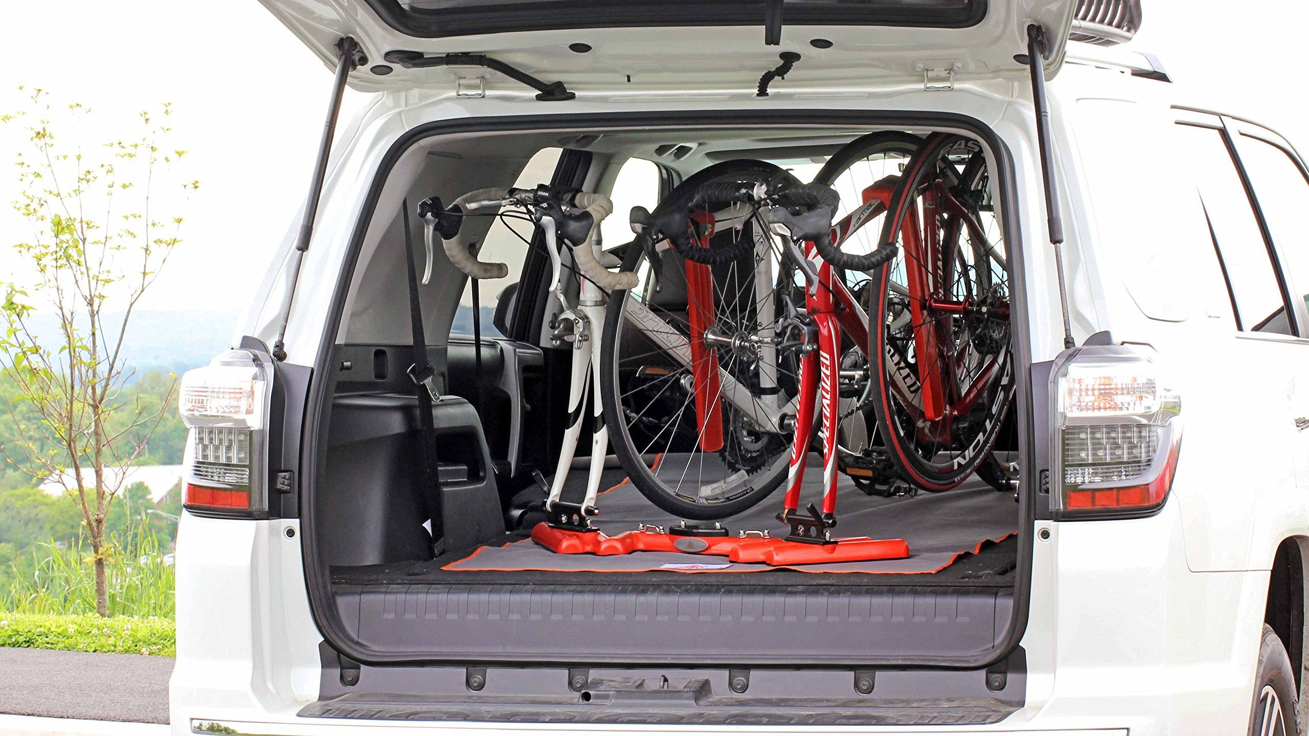 en trunk for rack bicycle thule car gateway product bike