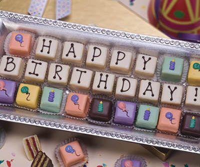 Birthday Petits Fours