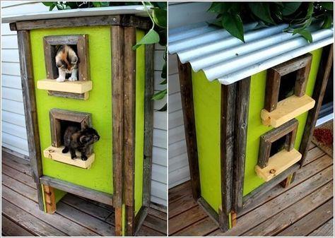 Photo of 10 casas y cabañas Super Cool Cat para tu Kitty 7