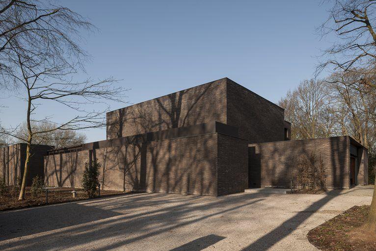 dd residence waregem Vincent van duysen Dutch house