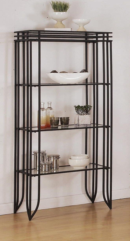 Metal Bakers Rack Cheap 4 Shelf Contemporary Stylish Metal
