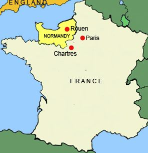 Image result for normandy map