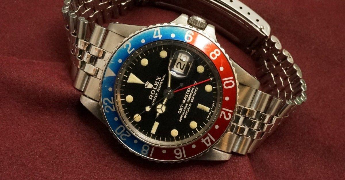 half off ad5c7 cce7c ロレックス GMTマスター Ref-1675 Gilt/Gloss Dial(RS-41/1965 ...
