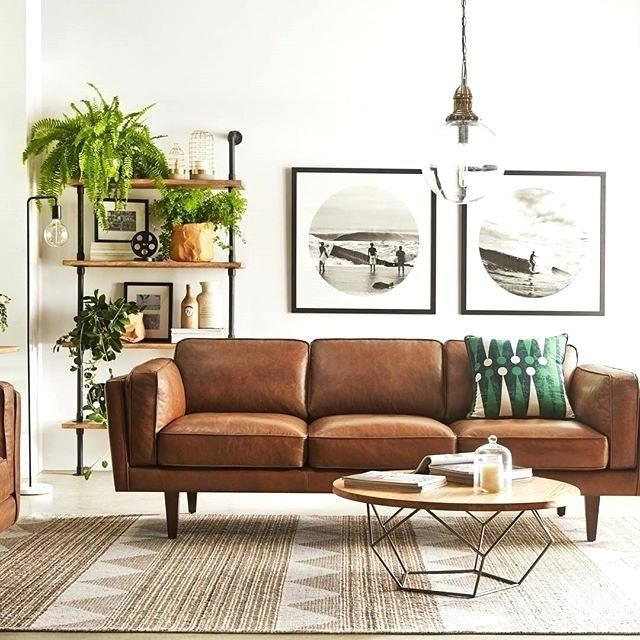 Leather Sofa Decor Best Light Brown Leather Sofa Decorating Ideas Photos Leather Couches Living Room Leather Sofa Living Room Couches Living Room