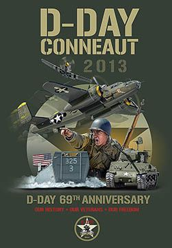 D Day Conneaut Oh 2013 Event Poster With Images D Day