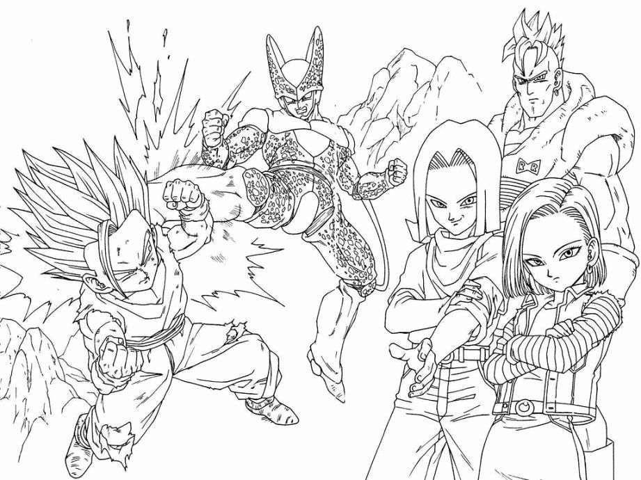 Dragon Ball Coloring Book Best Of Dragon Ball Z Coloring Pages Boo Coloring Home Coloring Books Shark Coloring Pages Coloring Book Art