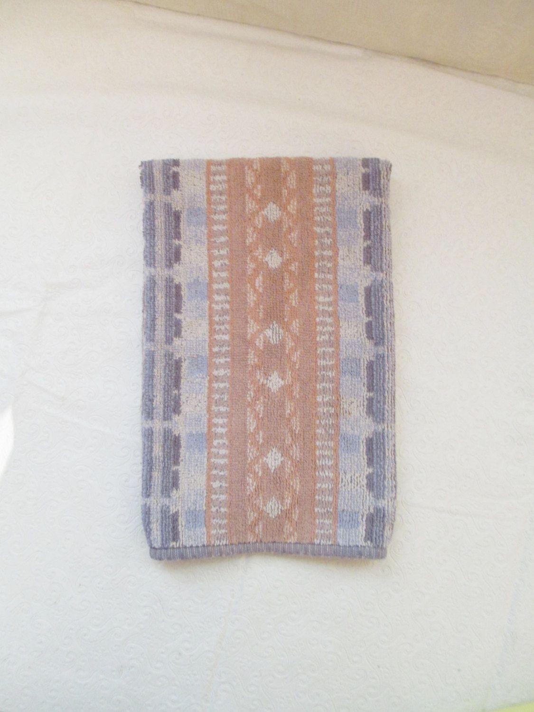 Vintage Southwest Towel Cannon Royal Family Hand Towel Southwestern Bath Guest Towel Pastel Bathroom Towel 80 S Towel Hand Towels Etsy Finds Guest Towels