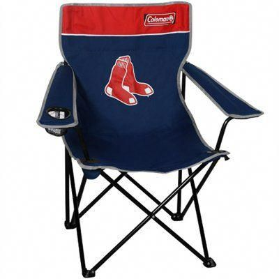 Boston Red Sox Coleman Quad Folding Chair Tailgatechairs
