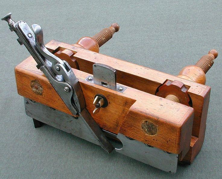 German Plough Plane Rubanki Woodworking Tools Tools Antique