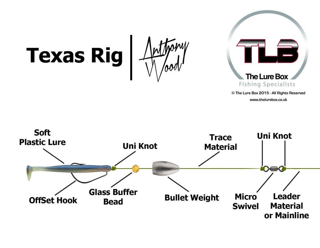 texas rig diagram fishing pinterest