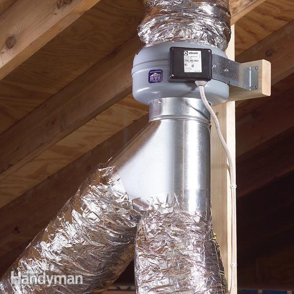 Bathroom Ceiling Fan Motor Replacement