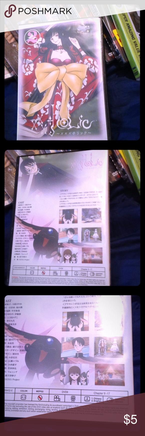 xxxHolic DVD Season 1 Vol. 2 CLAMP Anime for sale This is