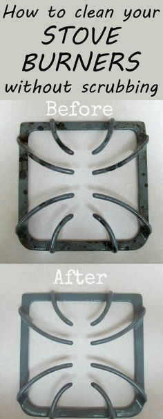 Ideas : How To Clean Your Stove Burners Without Scrubbing
