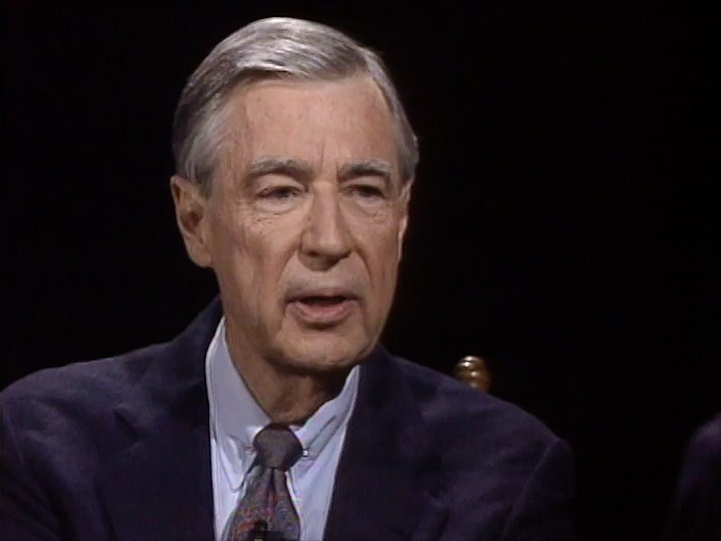 Mr Rogers Interview On Charlie Rose 1997 Mr Rogers Mister Rogers Neighborhood Fred Rogers