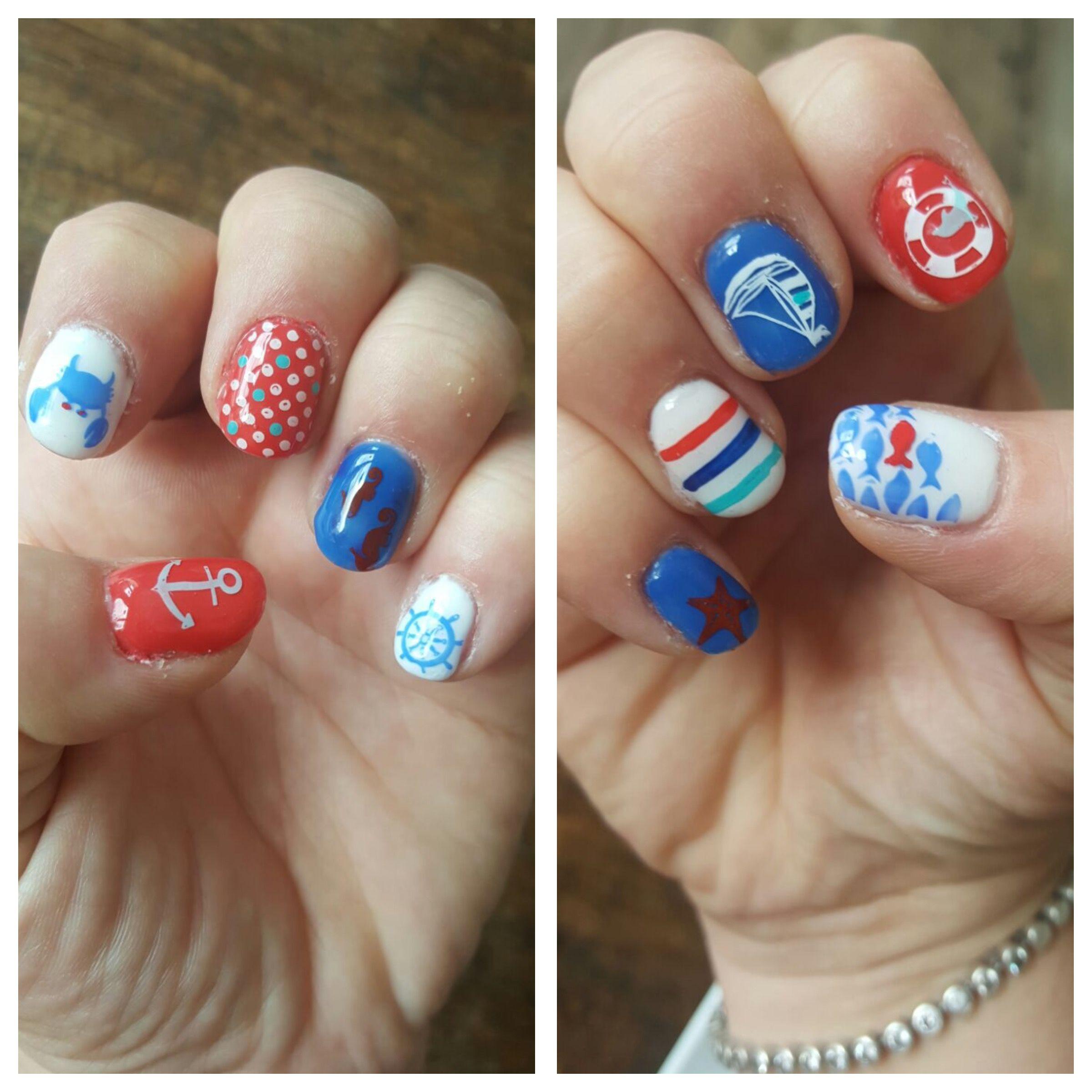 Nails - Nageldesign Urlaub Kreuzfahrt | Nageldesign | Pinterest ...
