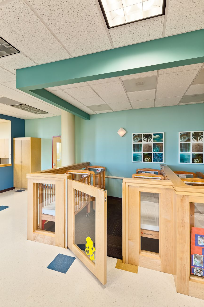 Modern Childcare Facility For 215 Students + Staff. Early Childhood  Development Design Program. Vibrant Design | Sustainable Materials |  Healthy Interiors.