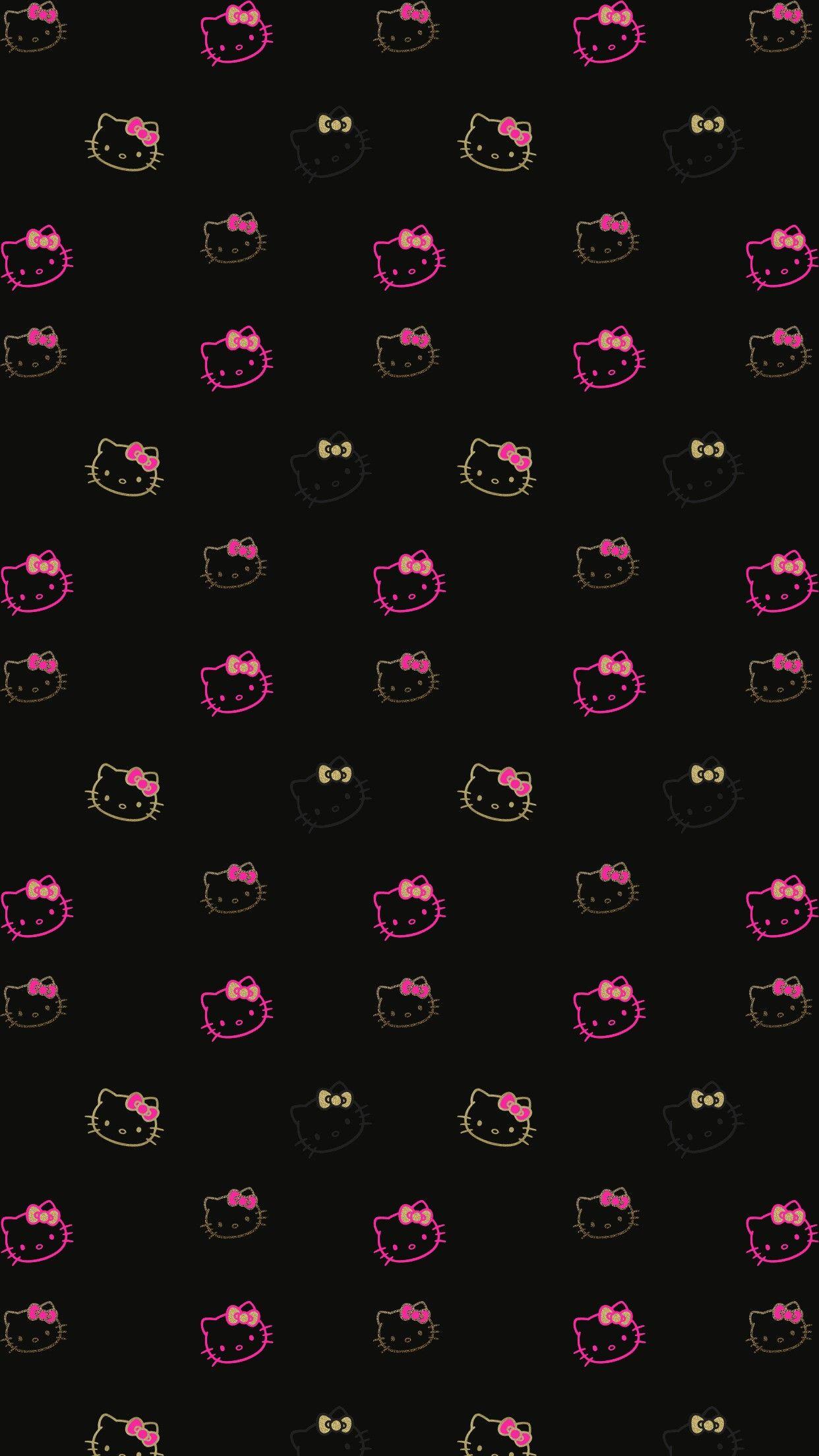 Hello Kitty Hello kitty iphone wallpaper, Hello kitty