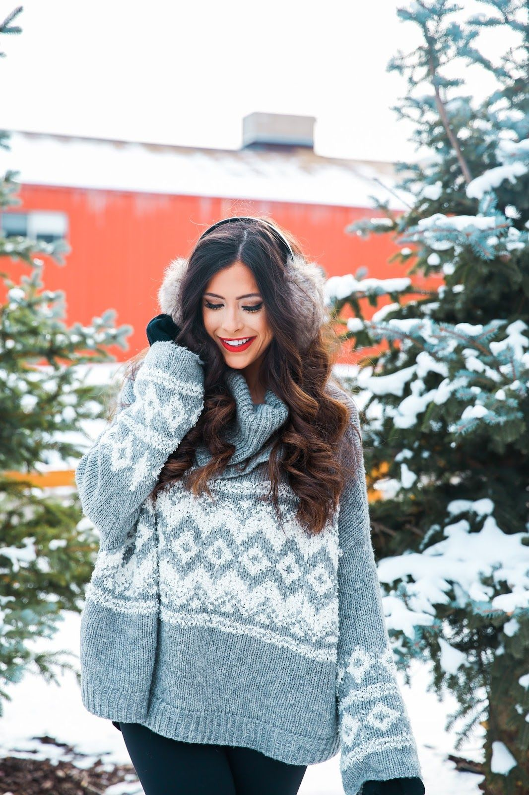 The Sweetest Thing | Winter Fashion | Pinterest | Red hunter boots ...