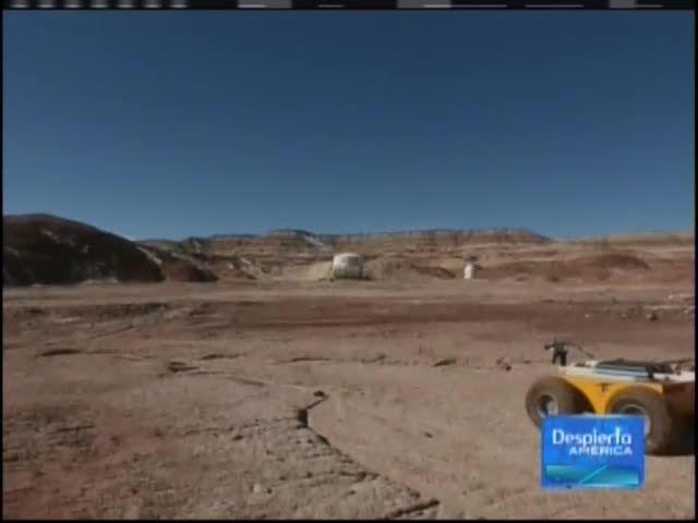 Realizan Pruebas En El Desierto De Utah Para Vivir En Marte #Video