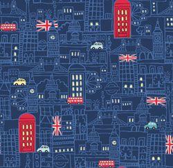 Benartex Britania England London City Buildings @Karen VanBeek