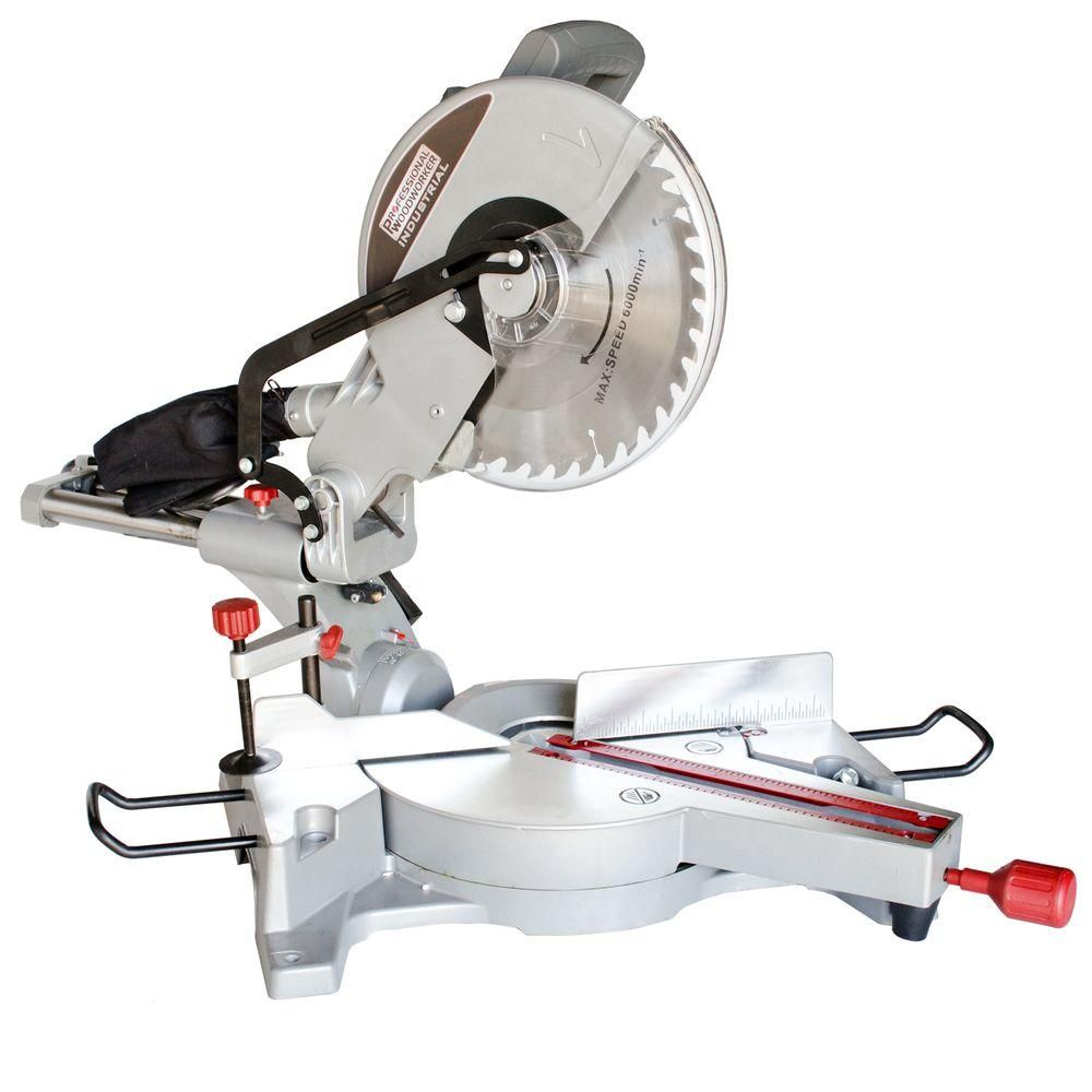 Professional Woodworker 15 Amp 12 In Sliding Compound Miter Saw With Laser Guide 8637 Used Woodworking Tools Jet Woodworking Tools Sliding Compound Miter Saw