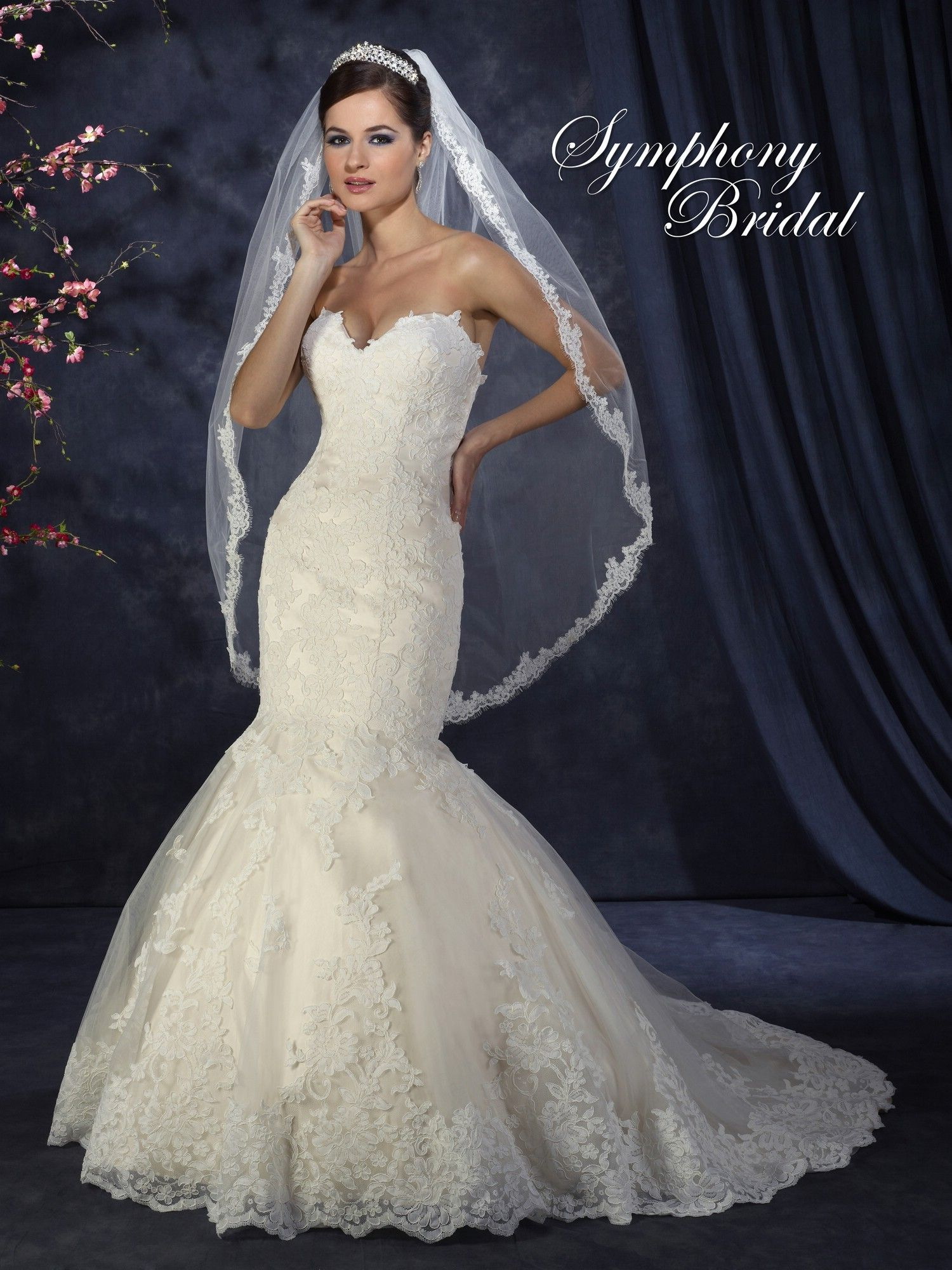 Symphony Wedding Dresses - Style S3308 [S3308] - $1,100.00 : Wedding ...