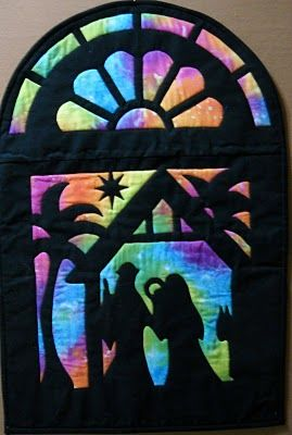 I couldn't find the pattern for this Nativity quilt, but it would ... : nativity quilts - Adamdwight.com