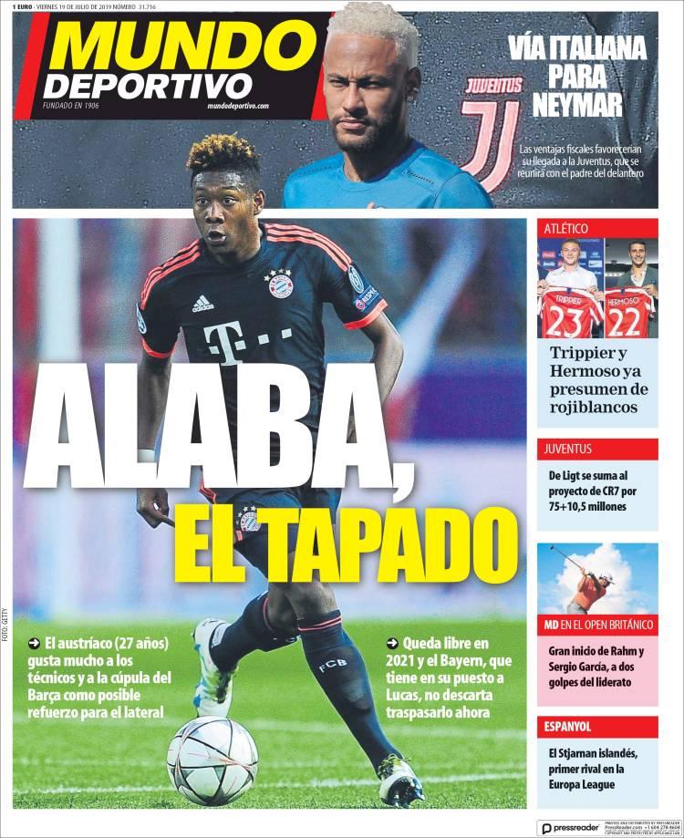 20190719 Periódico El Mundo Deportivo (España