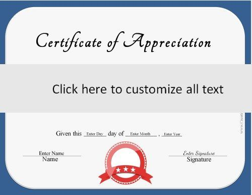 blue border with a red ribbon on generic certificate | Diwata Pins ...