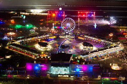 The Electric Daisy Carnival In Las Vegas would be a dream dance come true.