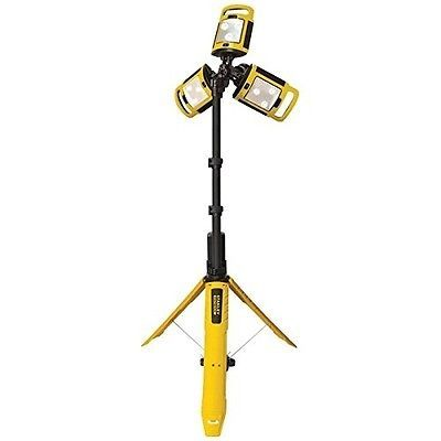Stanley Tpl45s Rechargeable Fatmax R Li Ion Tripod Led Work Light Tripod Lighting Led Work Light Work Lights
