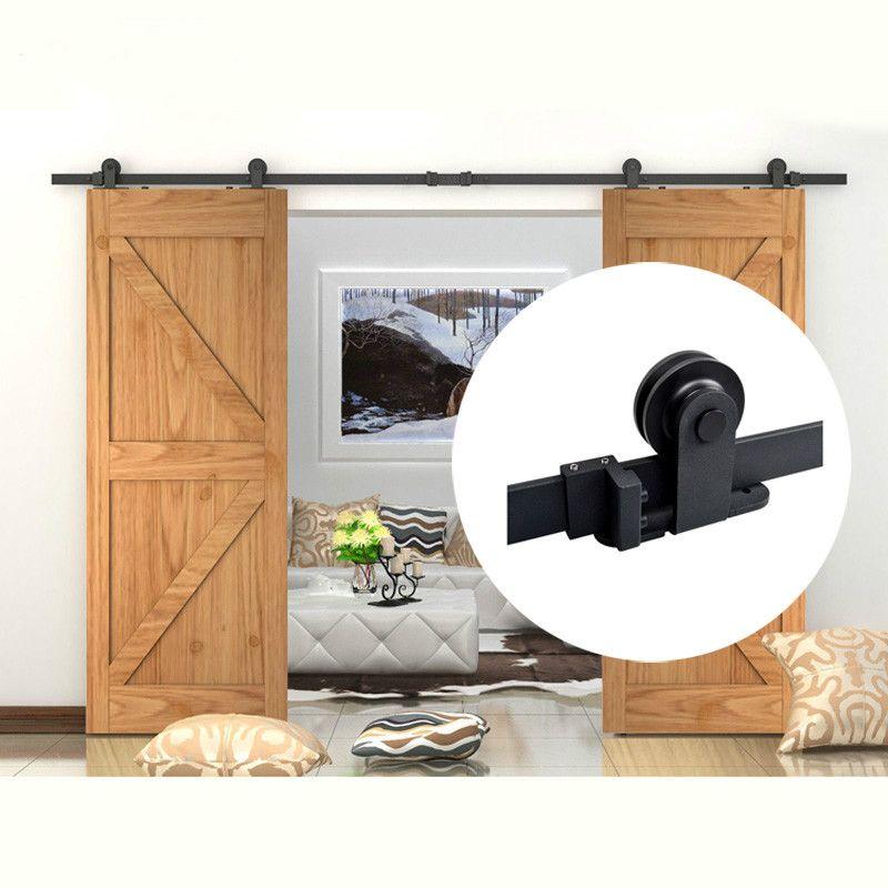 Cheap Sliding Barn Door Hardware, Buy Quality Barn Door Hardware Directly  From China Door Hardware Suppliers: KIN MADE Top Mounted Double Sliding  Barn Door ...
