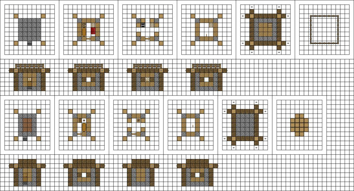 Alternate Small Houses By Mysticsamuraix In 2020 Minecraft Houses Minecraft Minecraft Blueprints