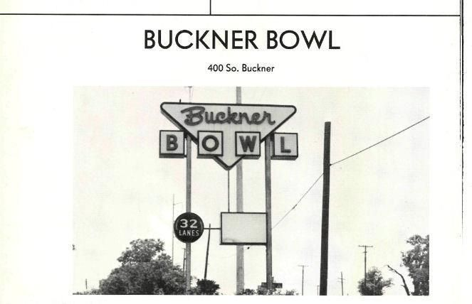 Buckner Bowling Lanes Pleasant Grove Texas Photo Dallas Texas