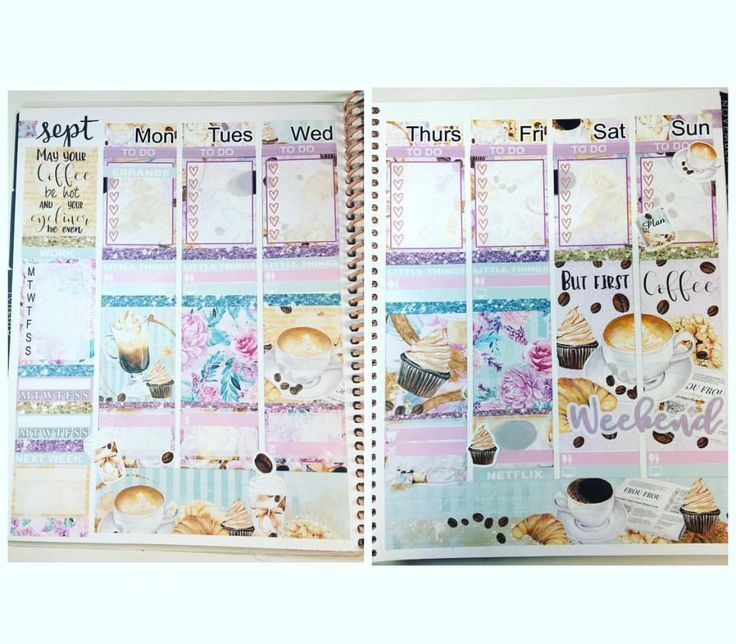Pin By Mistrunner Prints On Planner Spreads
