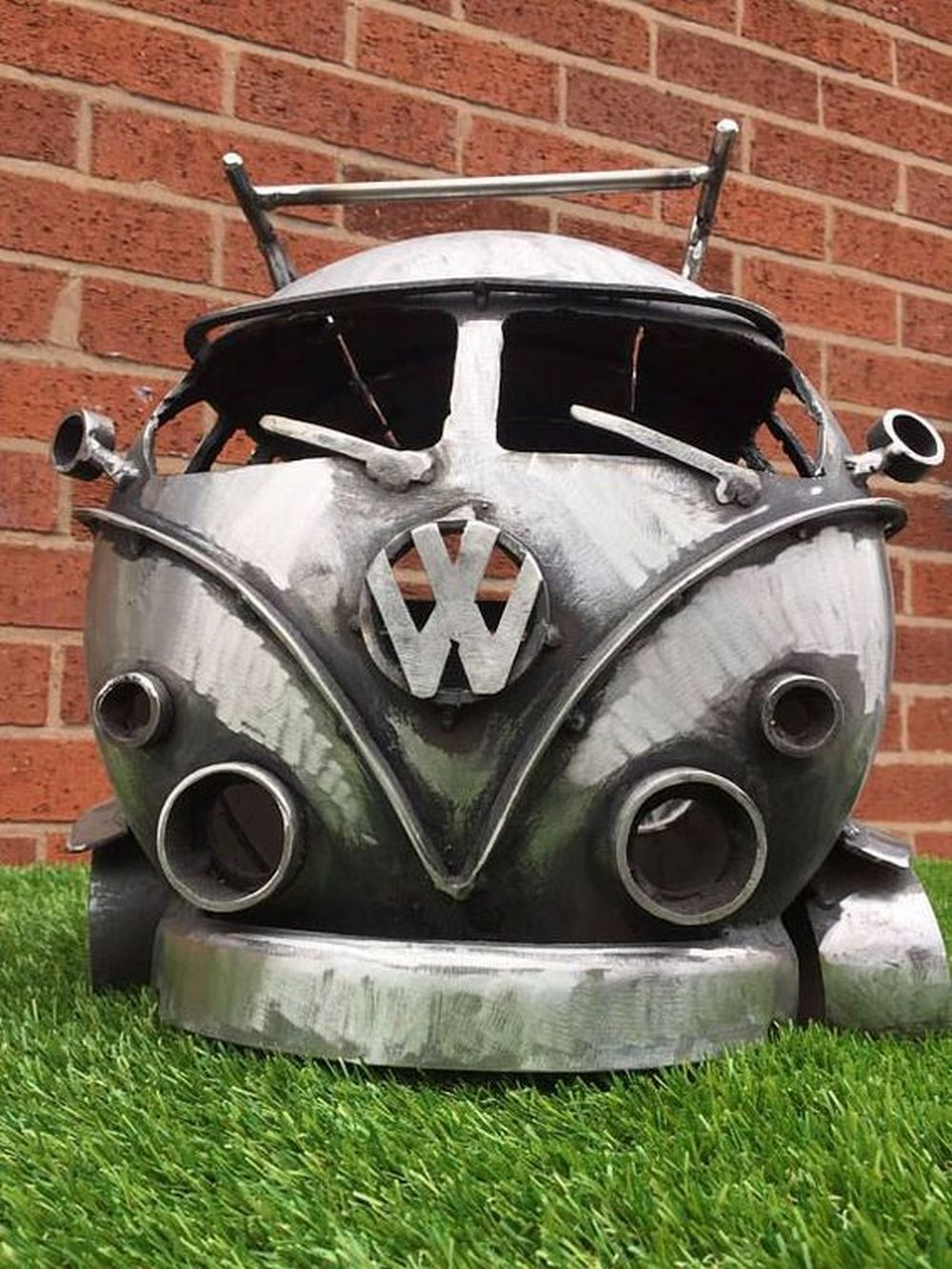 Feuerkorb Vw Bus Turn A Propane Tank Into A Vw Bus Fire Pit Outside Fire