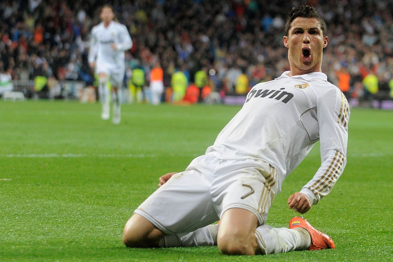 Jumping Celebration Cristiano Ronaldo Real Madrid 2014: 'Yo Aqui, Yo Aqui': Watch Cristiano Ronaldo Put Pay To