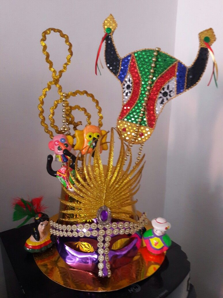 Elementos alusivos al Carnaval de Barranquilla