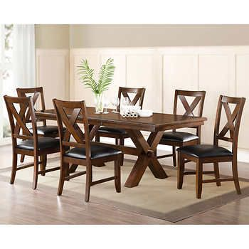 Montcross 7Piece Dining Set  New Dining Room  Pinterest Inspiration Dining Room Sets Costco Inspiration