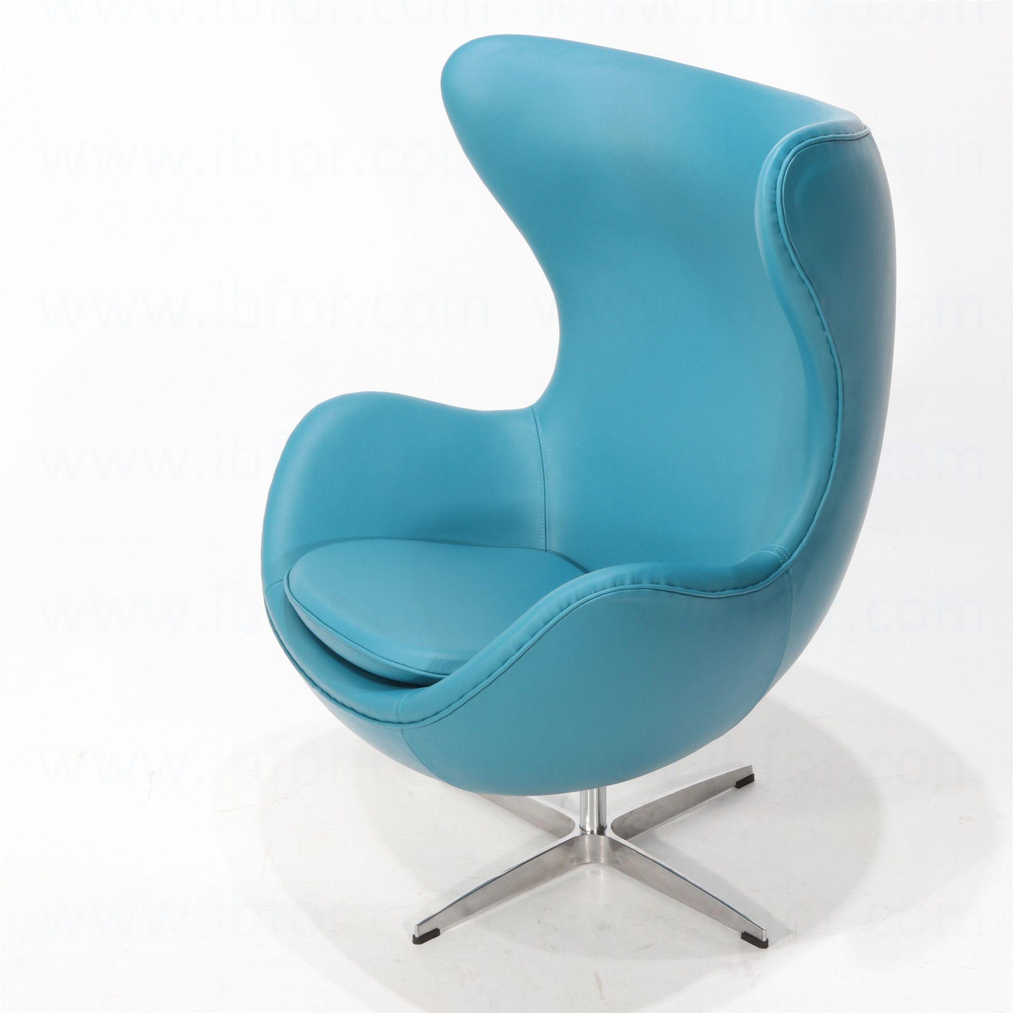 Poltrona Egg Di Jacobsen.Poltrona Egg Chair Pelle Cashmere Sedia Ovale Poltrone Arredamento